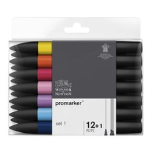 Winsor & Newton ProMarker Set 1 Set of 12 + 1