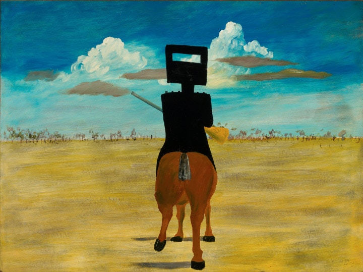 Sidney Nolan, Ned Kelly paintings