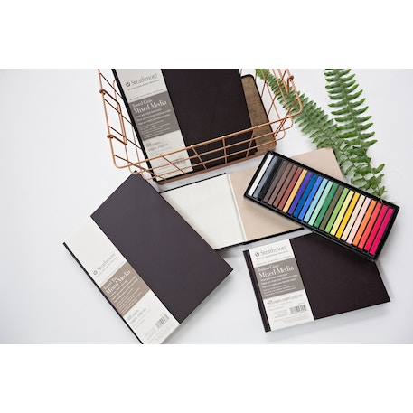 Strathmore 400 Toned Mixed Media Hardbound Book 24 sheets 300gsm