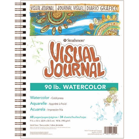 Strathmore 400 Visual Journal Watercolour 34 sheets 190gsm