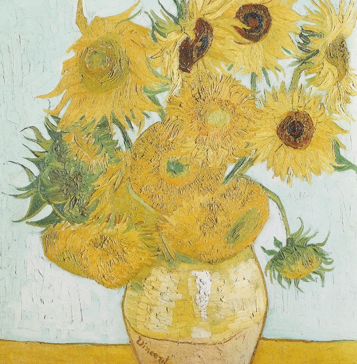 van Gogh's Sunflowers, Here Comes Mr Cass