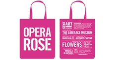 Opera Rose: New Cass Art Bag