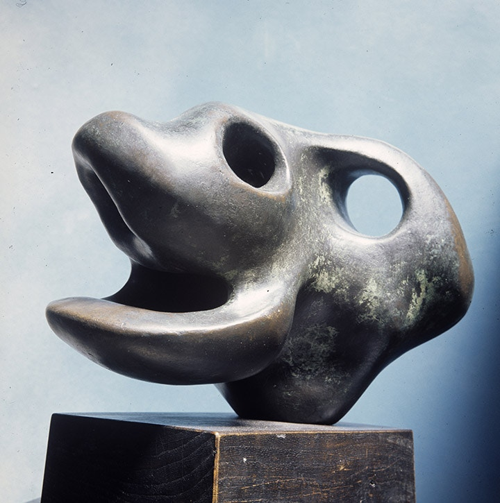 Animal Head by Henry Moore
