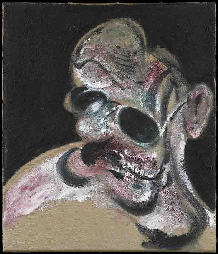 Portrait of Man with Glasses by Francis Bacon
