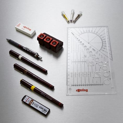 Rotring Rapidograph Technical Pen Sets