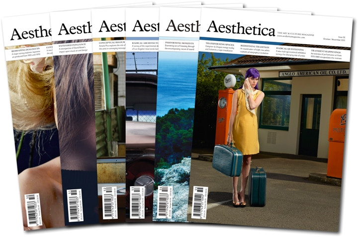 Get your October issue of Aesthetica magazine free on Student Day