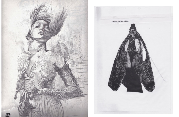 A peek into the sketchbooks of Abi Samuel.