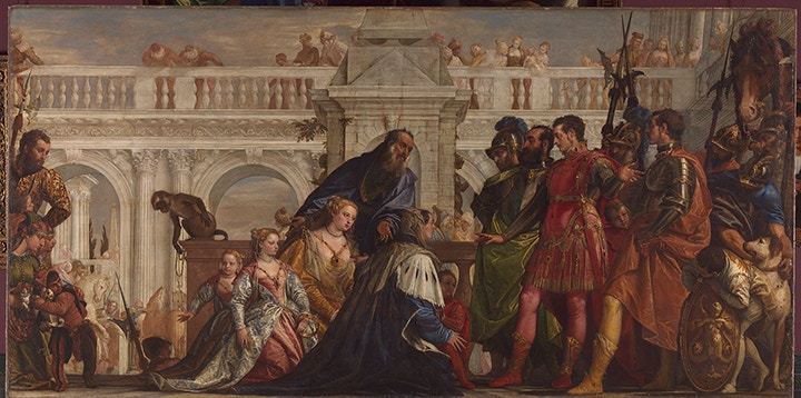 Paolo Veronese (1528-1588), The Family of Darius before Alexander, 1565-7, Oil on canvas, 236.2 × 474.9 cm, © The National Gallery, London (NG 294)