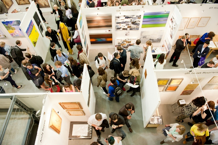 The Other Art fair at Ambika P3 in 2013