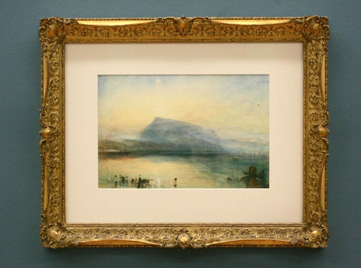 JMW Turner Watercolour, Cass Art blog