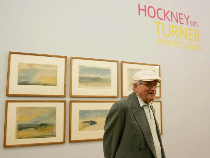 David Hockney, Cass Art blog