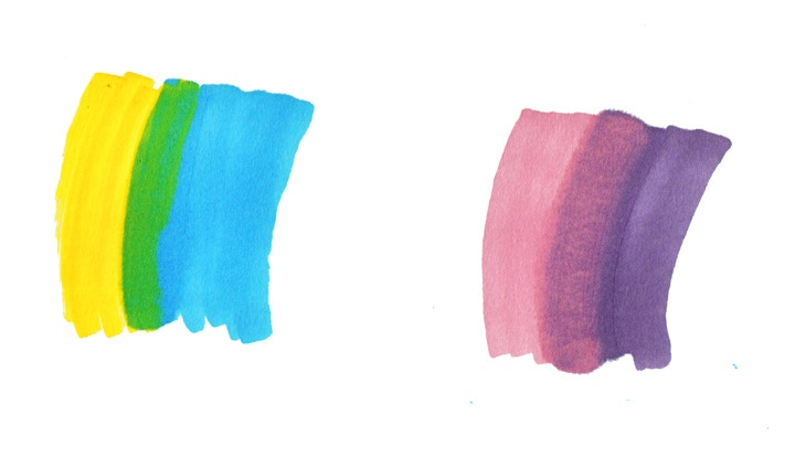 Pro Marker pens, Cass Art blog, Colour Mixing