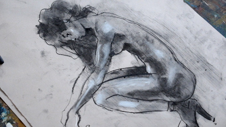 Toby Mulligan life drawing