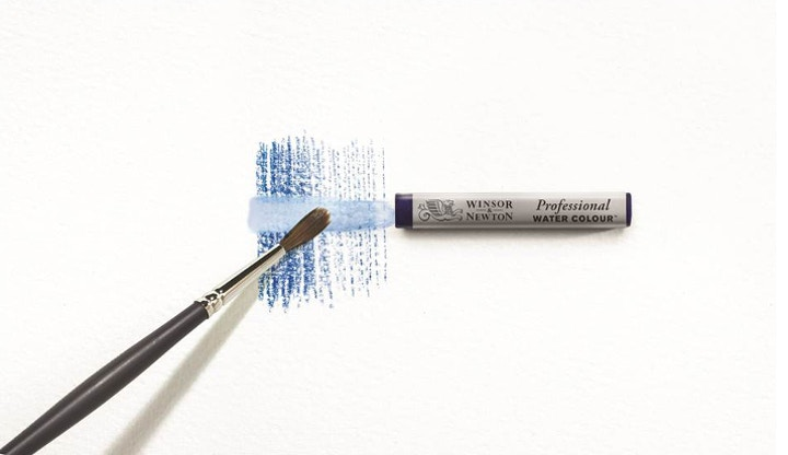 Transform watercolour sticks into paint