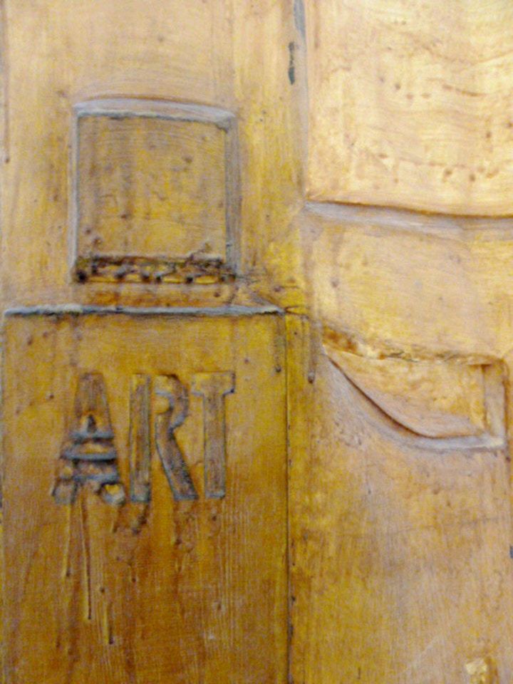 Mackintosh Doors detail by art graduate Theresa Malaney