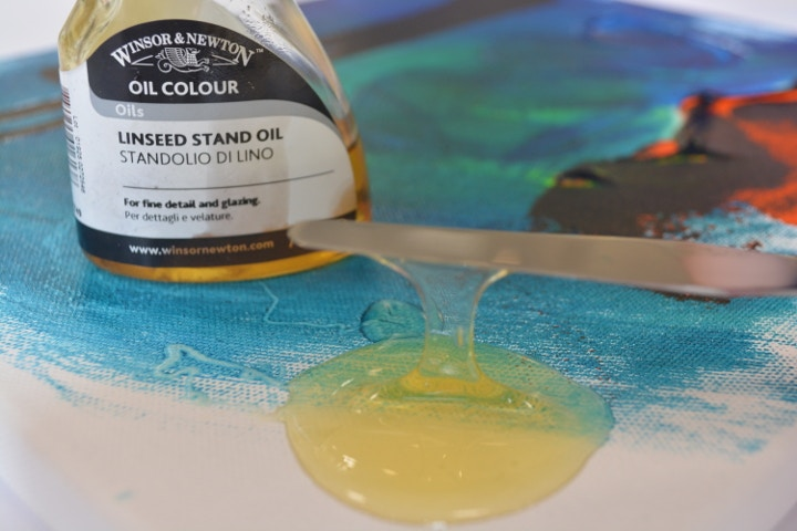 Winsor & Newton oil linseed stand oil