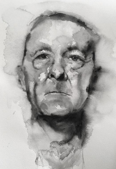 Robert O'Brien's watercolour