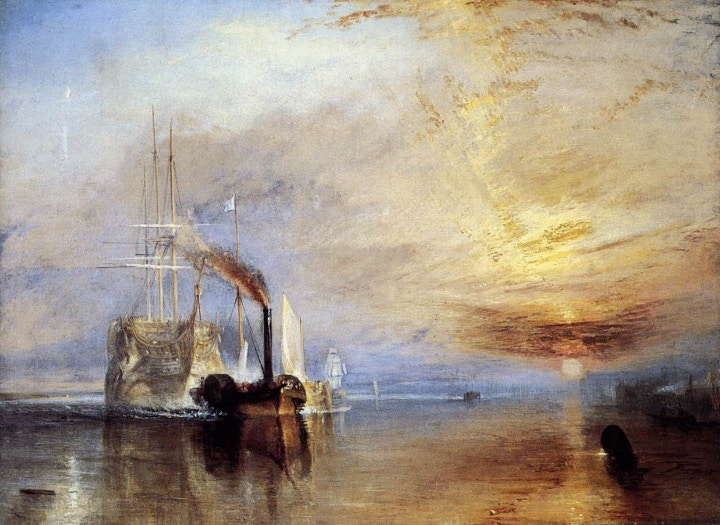 JMW Turner's painting