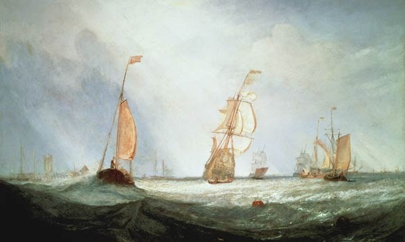 Turner's painting that caused a red stir