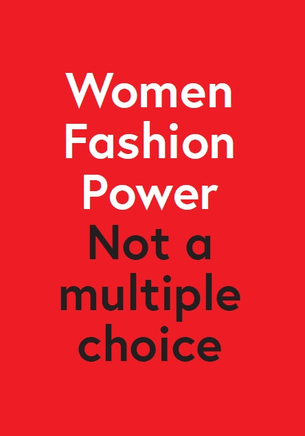 Women Fashion Power at Design Museum