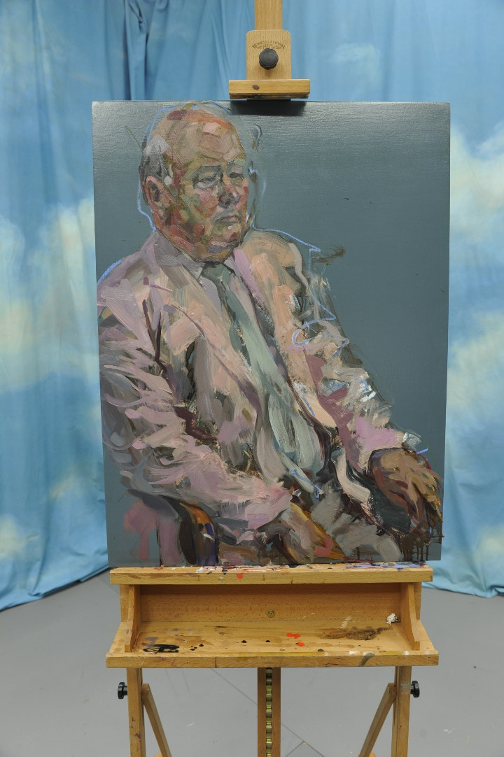 Alan McGowan Sky Arts Portrait Artist of the Year