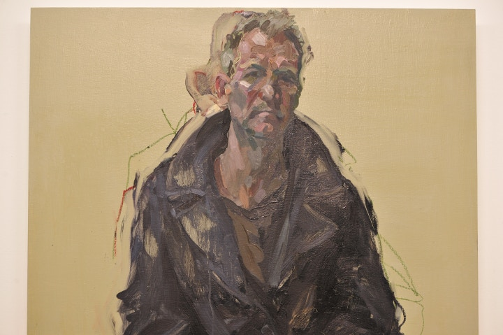 Alan McGowan painterly portrait