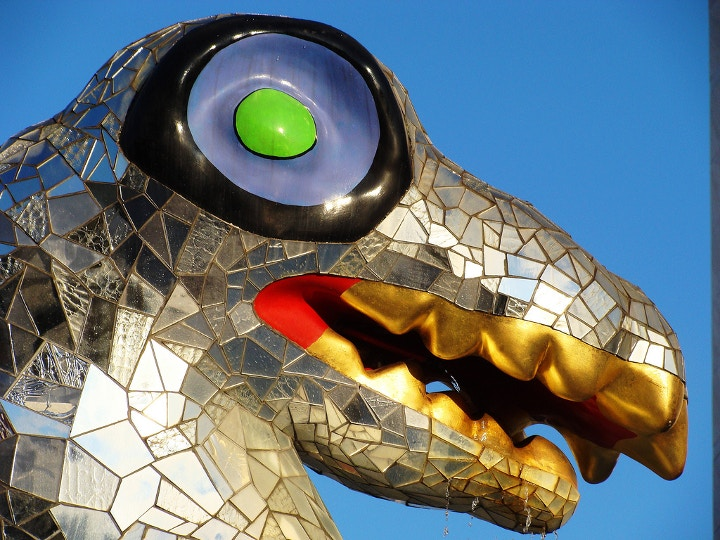 Saint Phalle sculpture