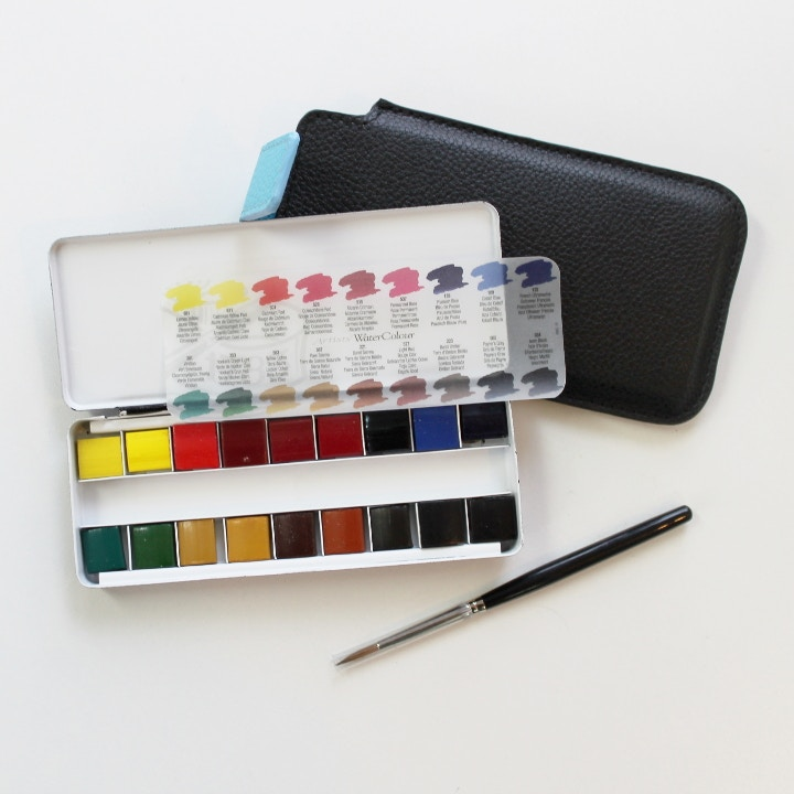 watercolour painting set