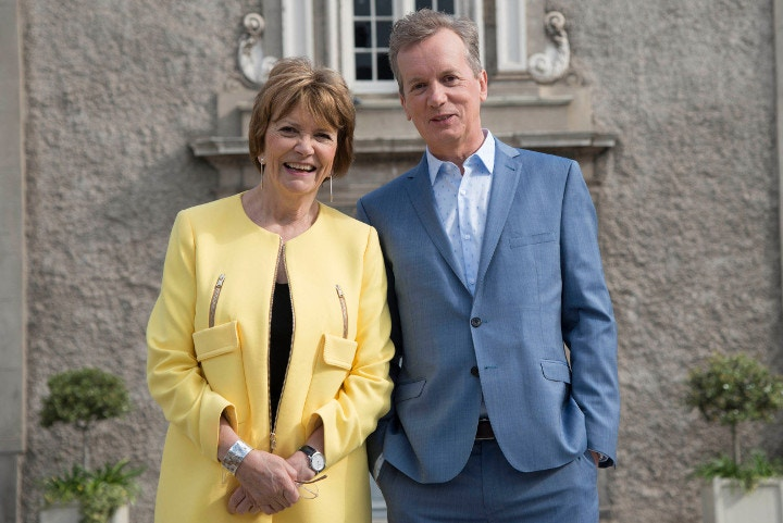Frank Skinner and Joan Bakewell