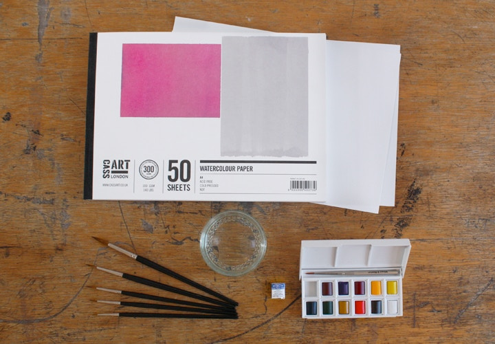 Watercolour paints Winsor & Newton