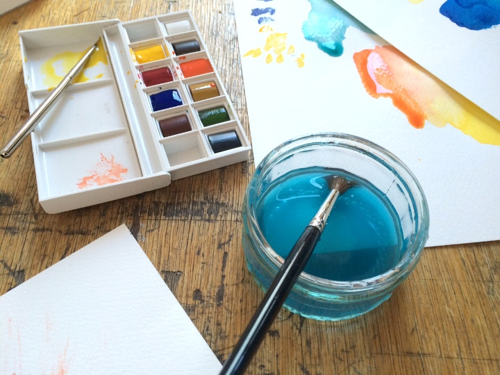Start watercolour painting