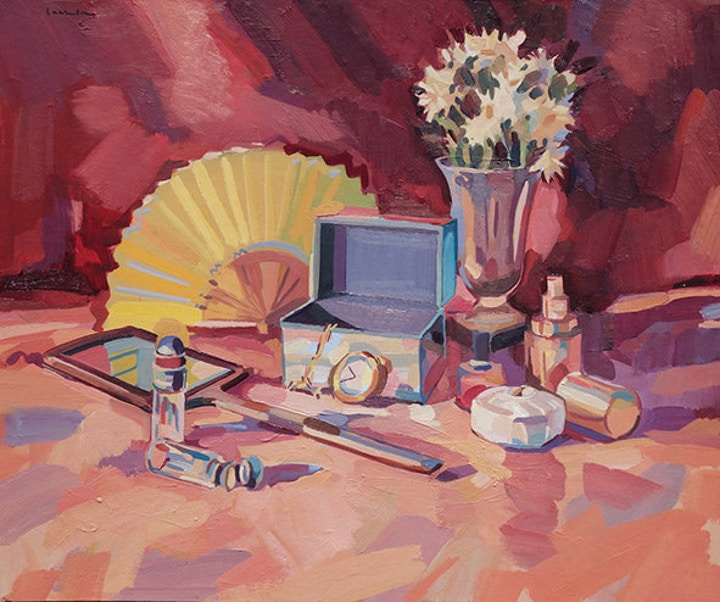 Still Life Oil Painting by Lachlan Goudie
