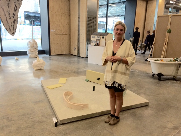 Helena de Pulford, BA winner of the Cass Art Prize at Central St Martins