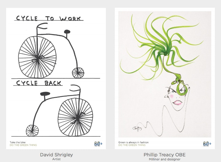 Do the green thing posters