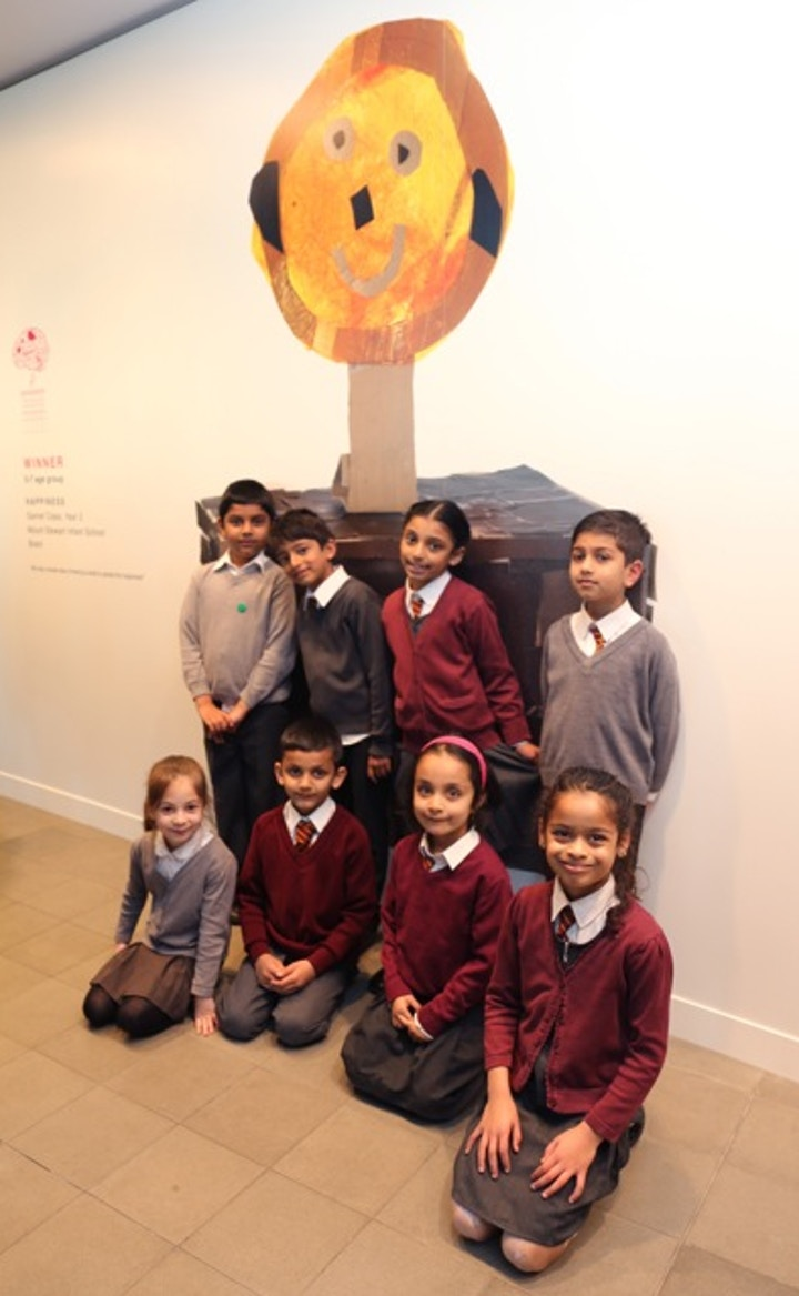 Happiness by Garnet Class, Fourth Plinth Schools Awards
