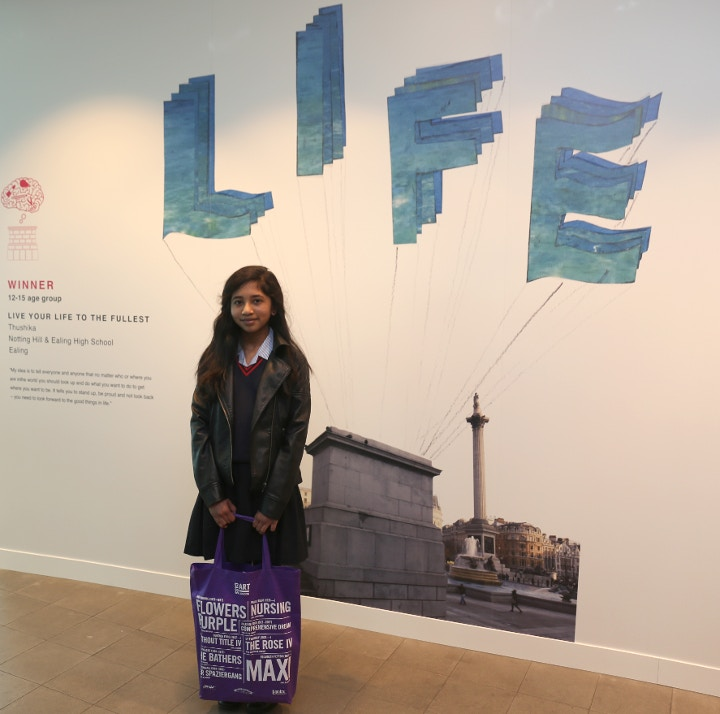 Live your life to the fullest, winner of Fourth Plinth Awards