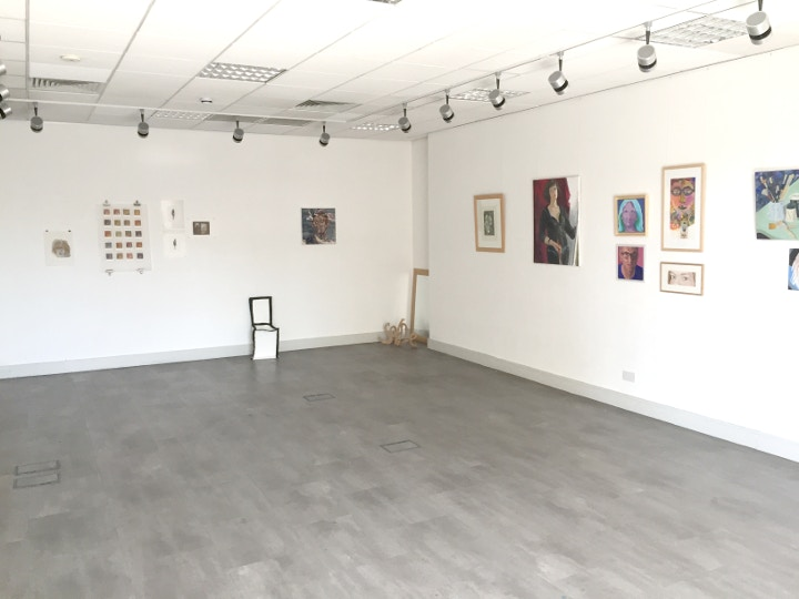 Exhibition at Cass Art Kingston