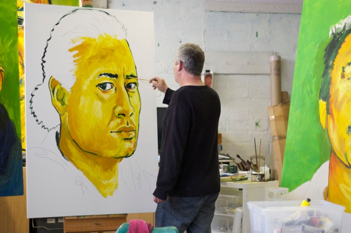 Painting Portraits - Wow Rugby