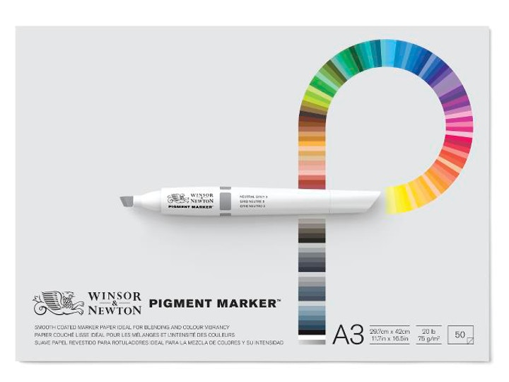 Pigment Marker Paper