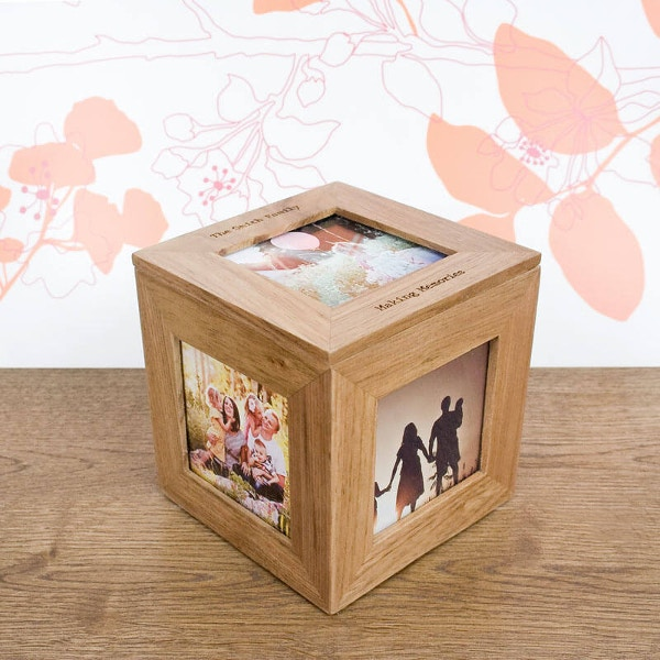 Unique Family Photo Box