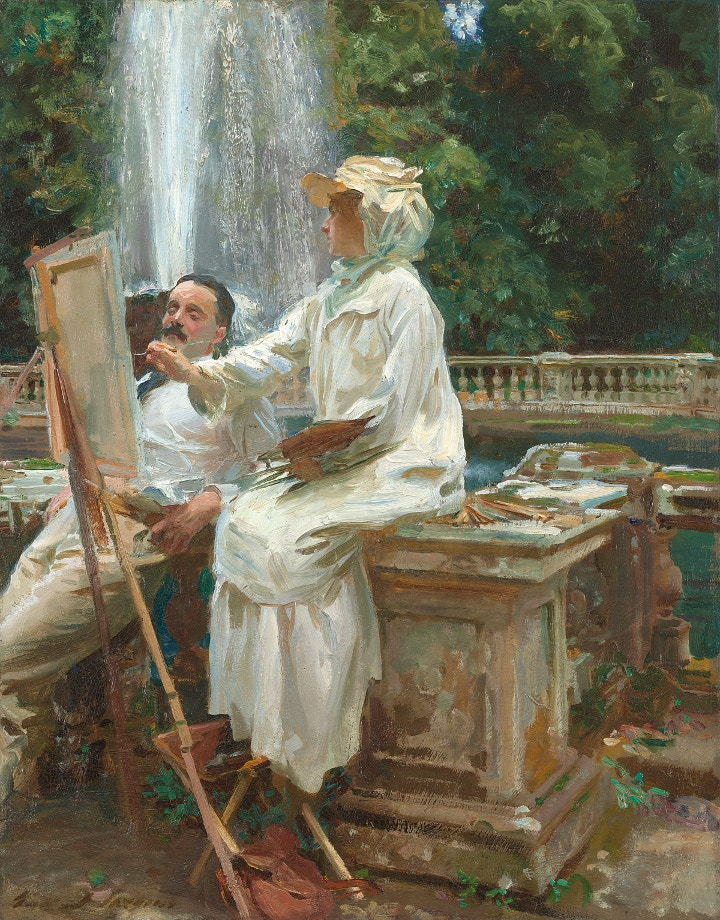 Sargent at the National Portrait Gallery