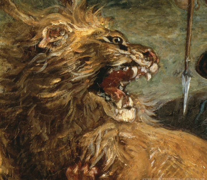 Eugène Delacroix, Lion Hunt (detail), 1861 © The Art Institute of Chicago, Illinois