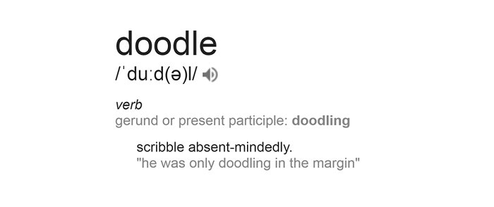 The History of the Doodler | Tracing a Doodle Timeline