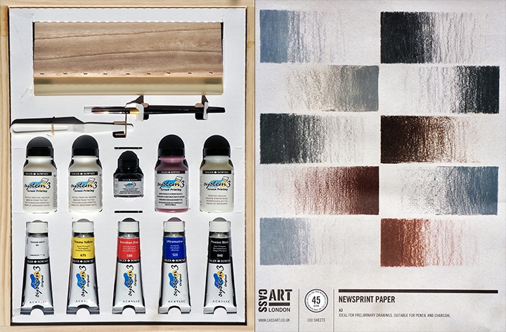 How to: Get Started with Screenprinting at Home | Cass Art
