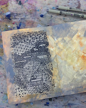 ART JOURNALING FOR WELLBEING-WEEKLY DROP-IN SESSIONS FRIDAYS