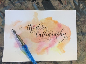 MODERN CALLIGRAPHY - 6-WK BEGINNER'S COURSE