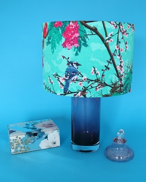 TAILOR MADE FABRIC LAMPSHADE with Ministry of Craft