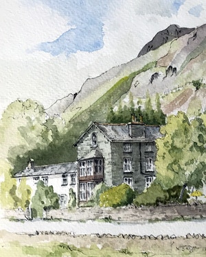 Watercolour/Line and Wash