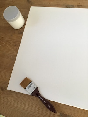 Canvas stretching, making your own canvases