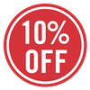SALE - 10% off (Red)
